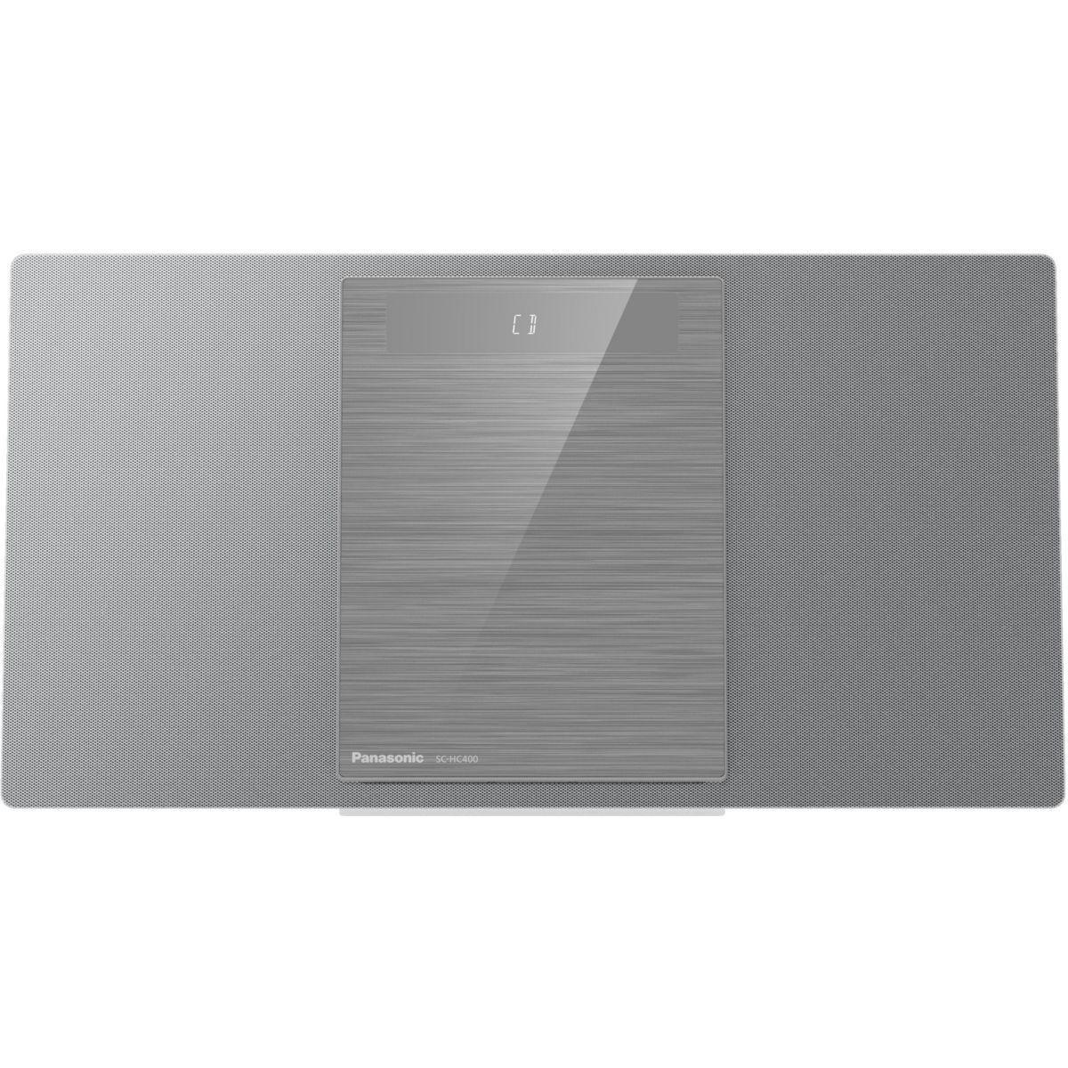 Microsistem Panasonic SC-HC400EG-S 40W Bluetooth Argintiu