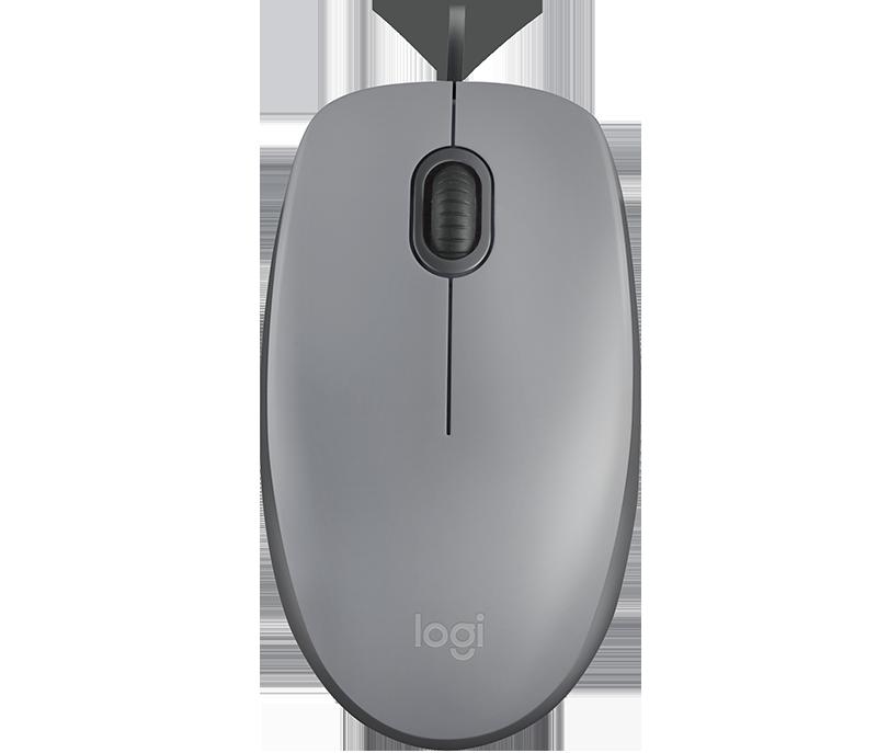 Mouse Logitech M110 Silent Grey