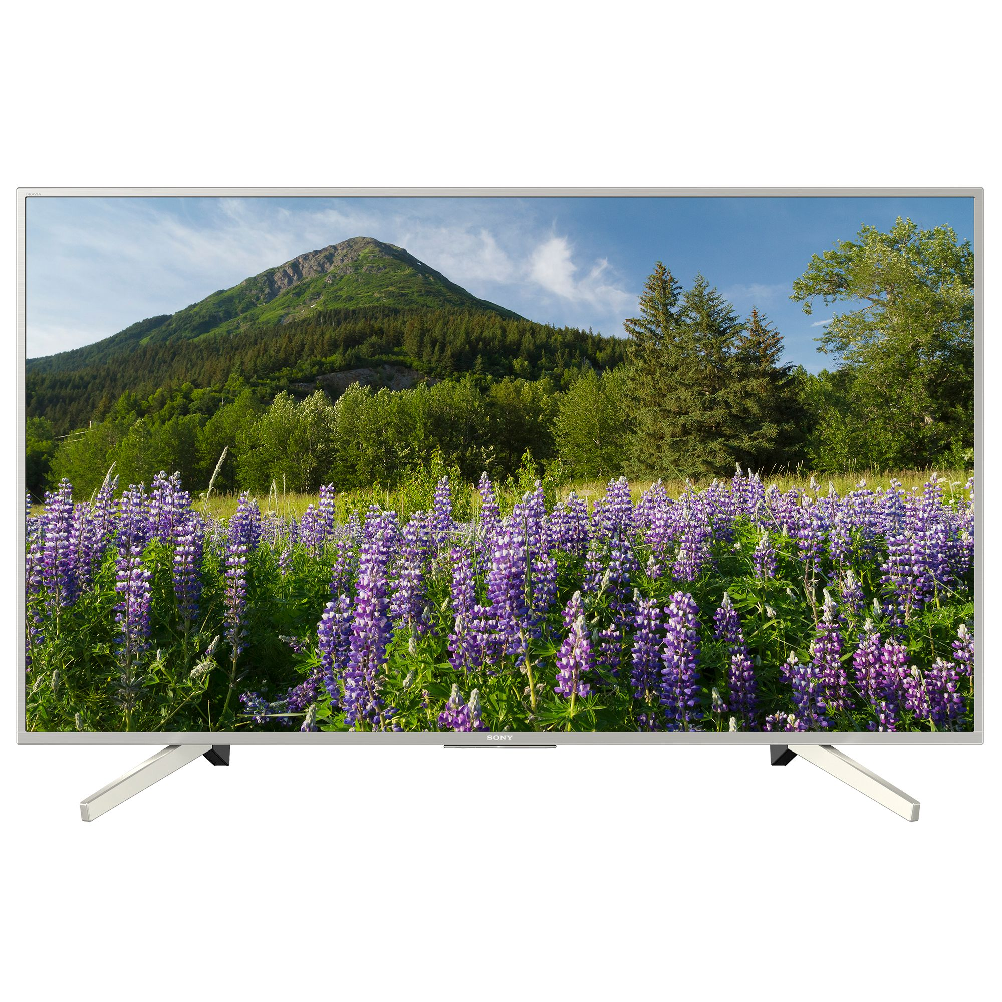 Televizor LED Sony Smart TV KD-43XF7077 108cm 4K Ultra HD HDR Argintiu