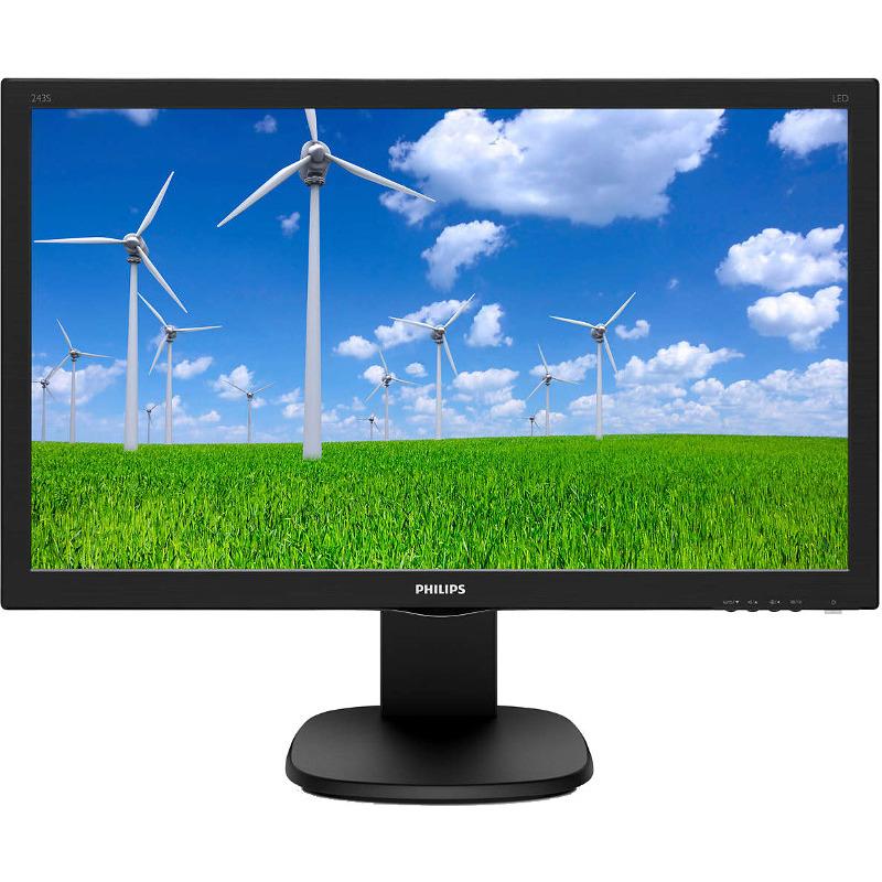 Monitor LED Philips 243S5LHMB 23.6 Full HD 1ms Negru