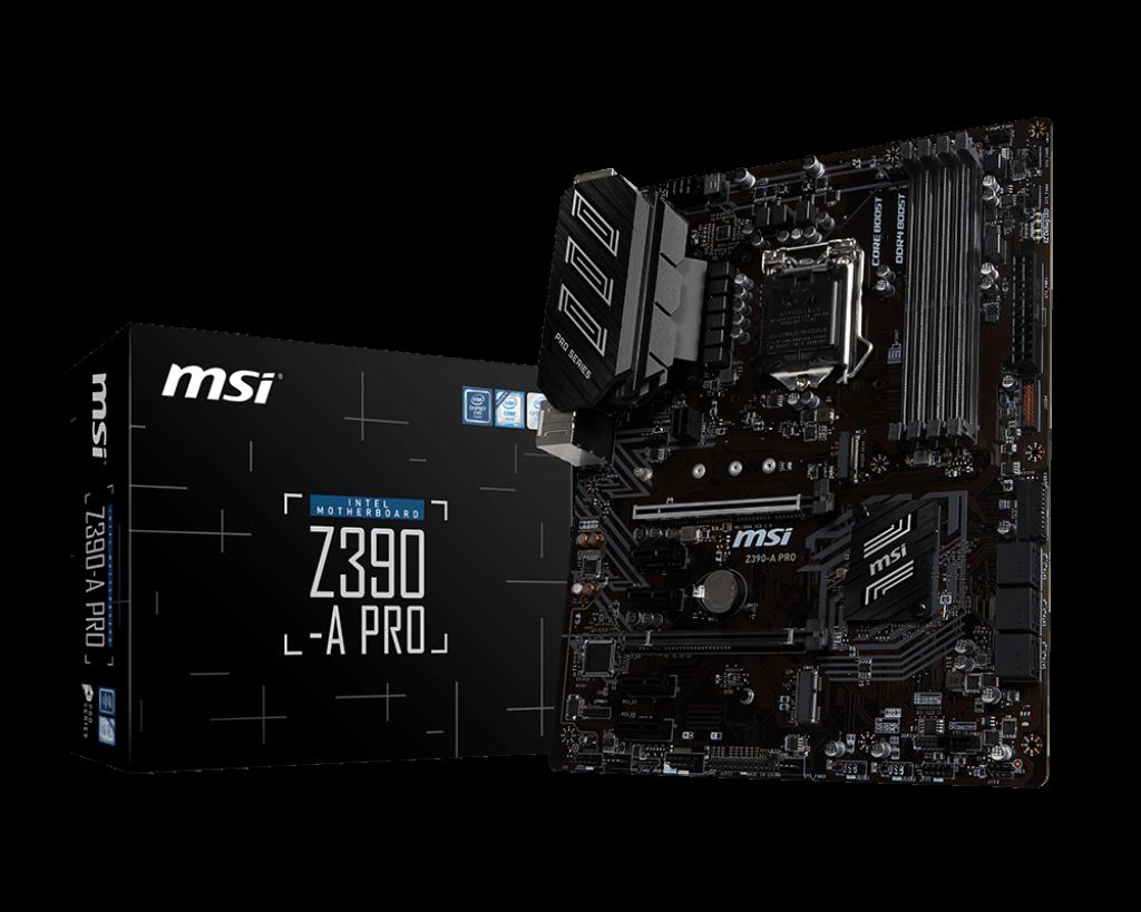 Placa de baza MSI Z390-A PRO Socket 1151v2