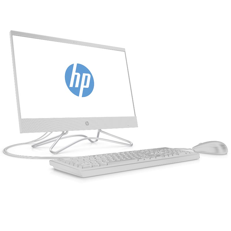 Sistem All-In-One HP 200 G3 21.5 Full HD Intel Core i3-8130U RAM 8GB SSD 256GB Windows 10 Pro Alb