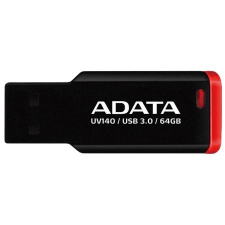 Flash Drive A-Data UV140 64GB Black/Red
