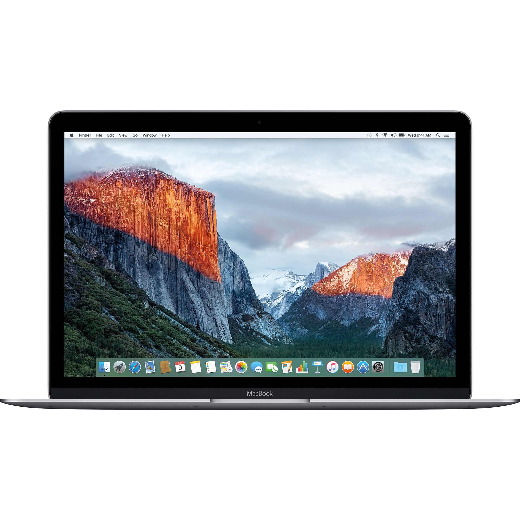 Notebook Apple MacBook Retina 12 Intel Core m3 1.2GHz RAM 8GB SSD 256GB Tastatura INT Space Grey