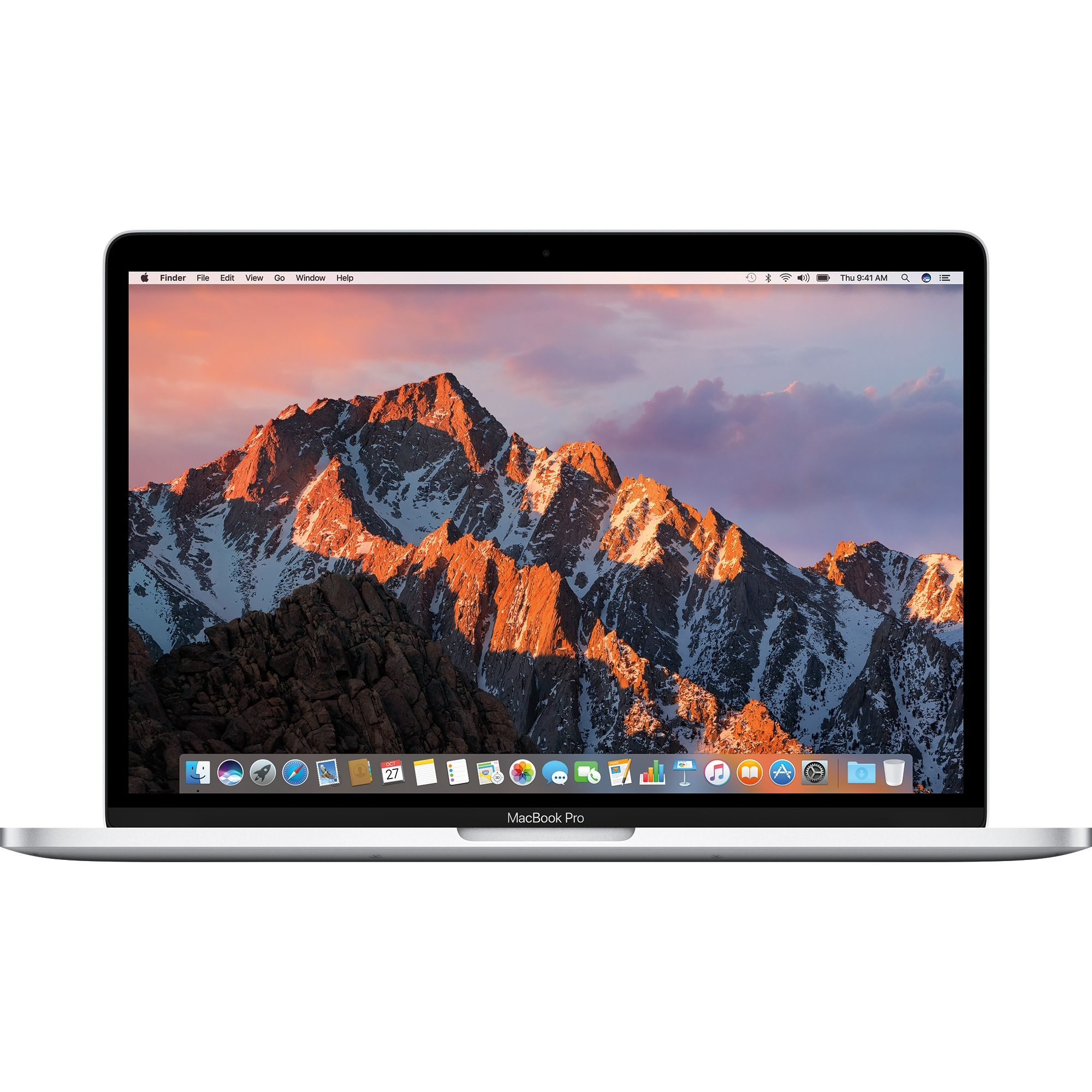 Notebook Apple MacBook Pro 13 Intel Core i5 2.3 GHz RAM 8GB SSD 128GB Tastatura INT Silver