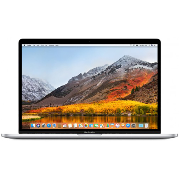 Notebook Apple MacBook Pro 2018 15.4 Retina Touch Bar Intel Core i7 2.6 GHz Radeon Pro 560X-4GB RAM 16GB SSD 512GB Tastatura RO Silver