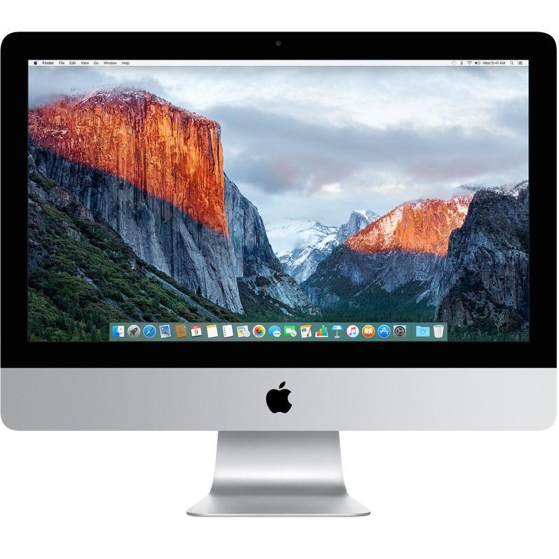 Sistem All-In-One Apple iMac 21.5 4K Retina Intel Core i5 3.4 GHz Radeon Pro 560-4GB RAM 8GB HDD 1TB Tastatura RO Mac OS X El Capitan
