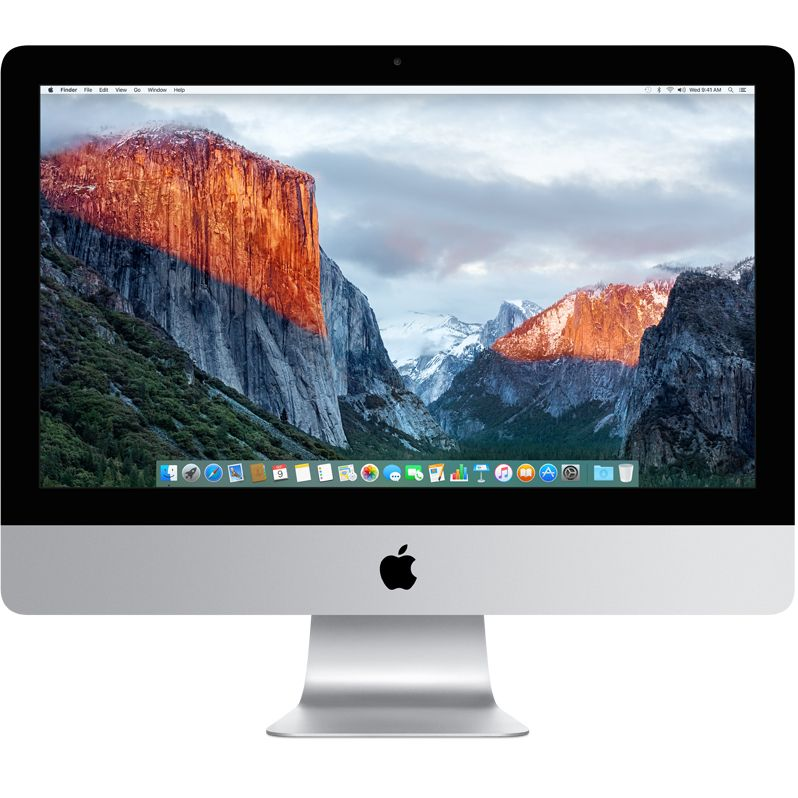 Sistem All-In-One Apple iMac 21.5 4K Retina Intel Core i5 3 GHz Radeon Pro 555-2GB RAM 8GB HDD 1TB Tastatura RO Mac OS X El Capitan