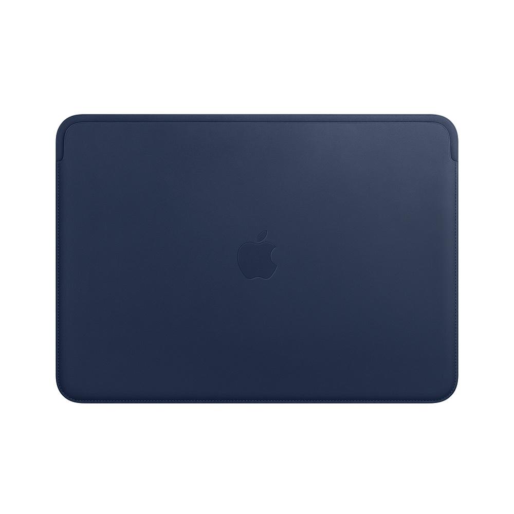 Husa Apple Leather Sleeve MRQL2ZM/A pentru MacBook Pro 13 Albastru