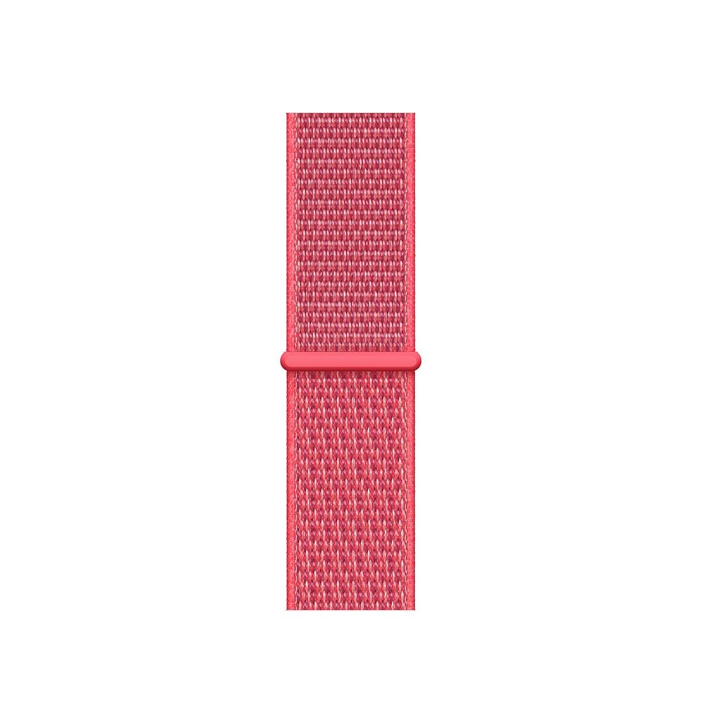 Curea Smartwatch Apple pentru Apple Watch Series 4 40mm Hibiscus Sport Loop