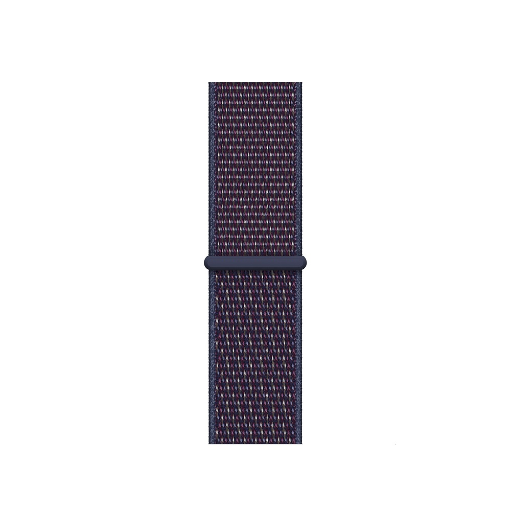 Curea Smartwatch Apple pentru Apple Watch Series 4 40mm Indigo Sport Loop