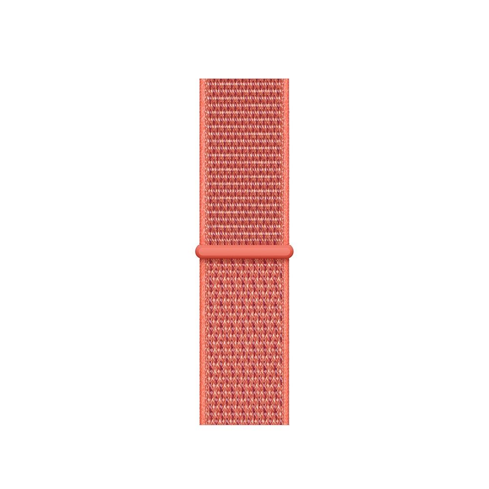 Curea Smartwatch Apple pentru Apple Watch Series 4 40mm Nectarine Sport Loop