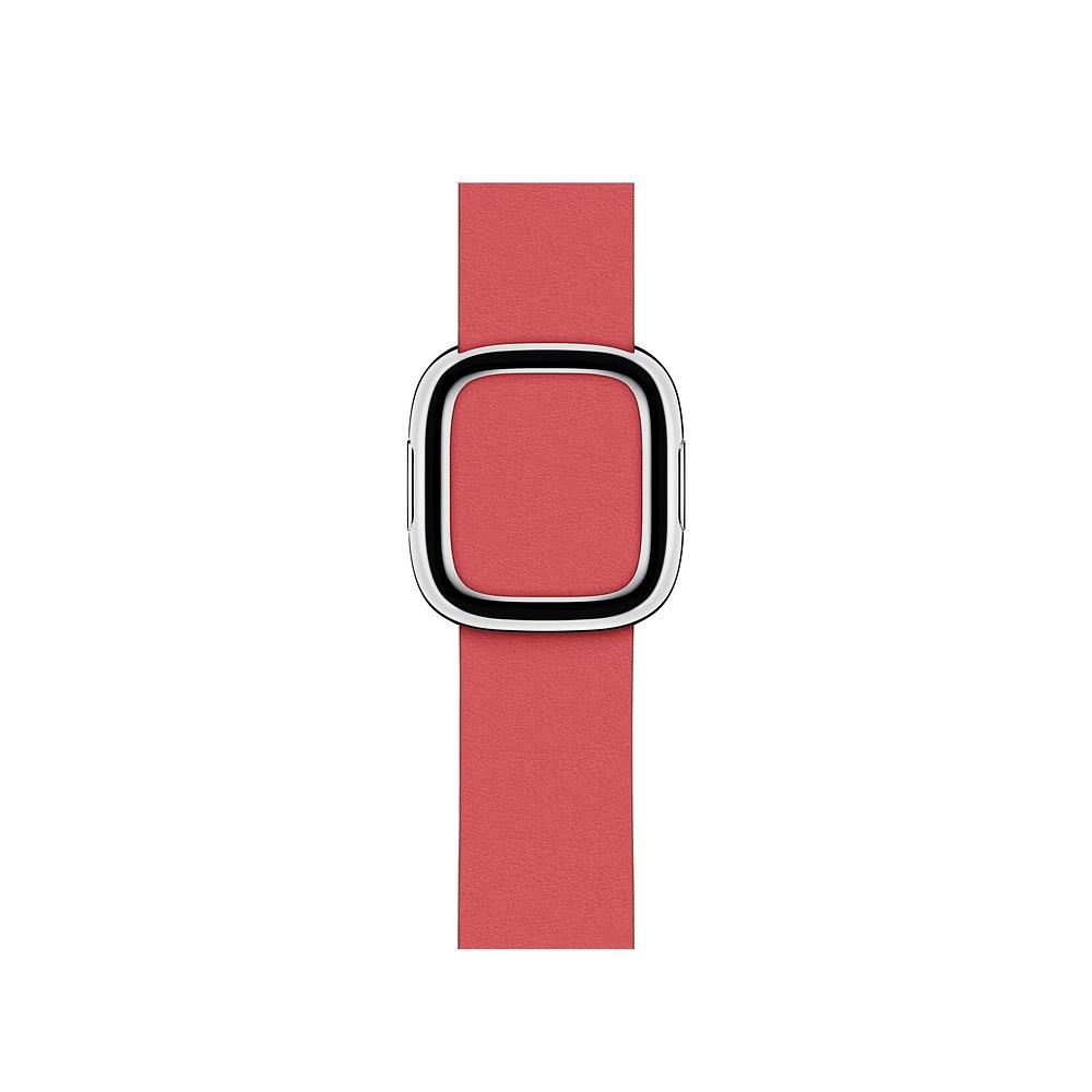 Curea Smartwatch Apple pentru Apple Watch Series 4 40mm Peony Pink Modern Buckle Band - Large
