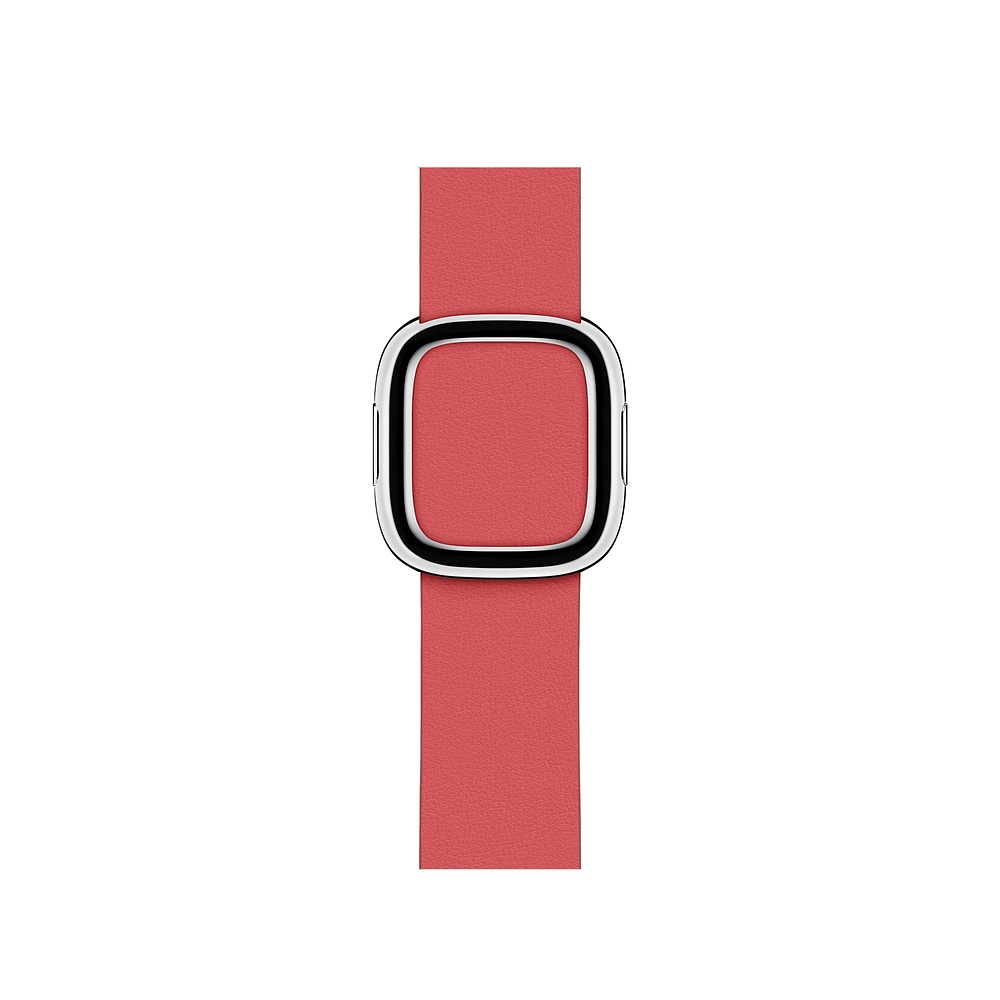 Curea Smartwatch Apple pentru Apple Watch Series 4 40mm Peony Pink Modern Buckle Band - Small