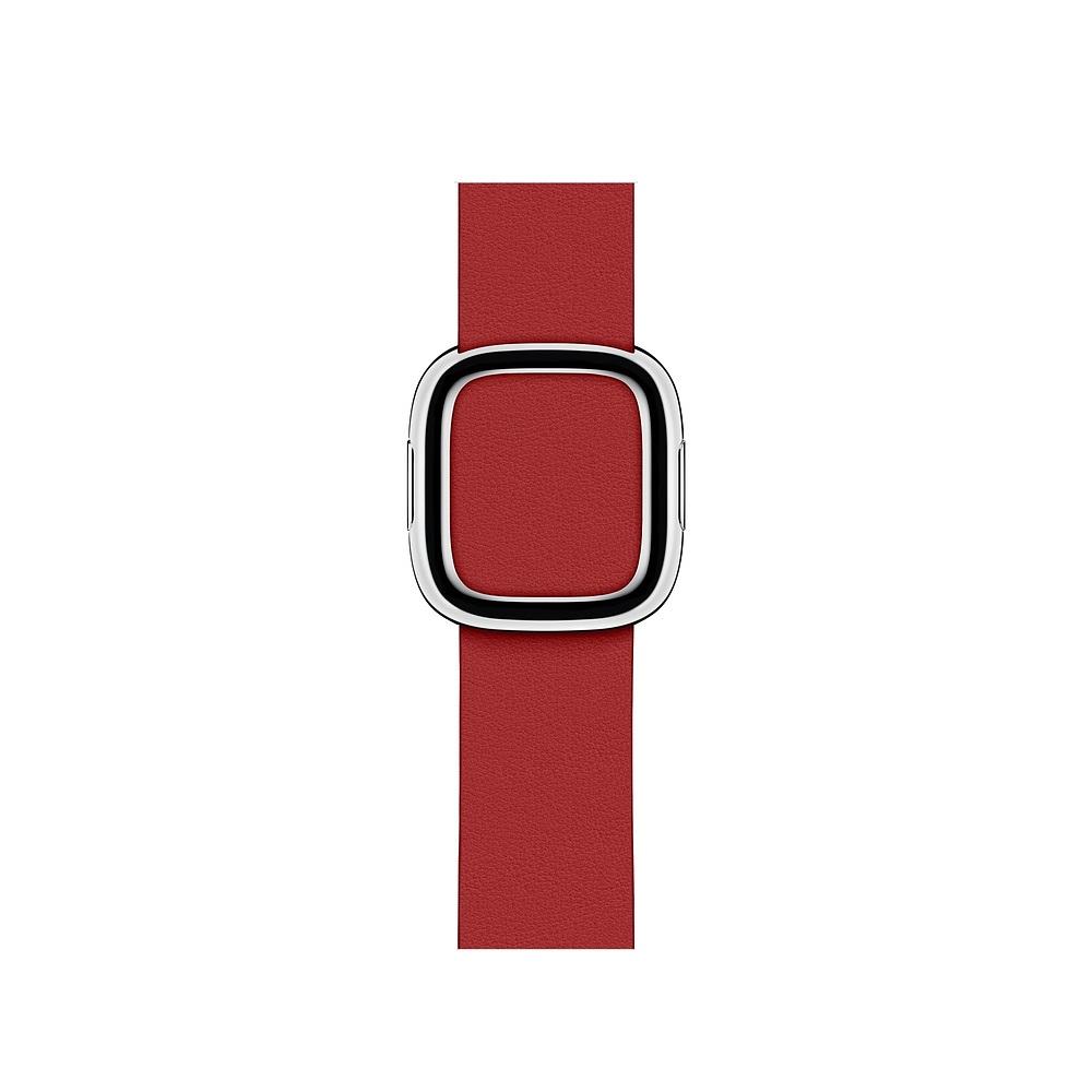 Curea Smartwatch Apple pentru Apple Watch Series 4 40mm Red Modern Buckle Band - Large
