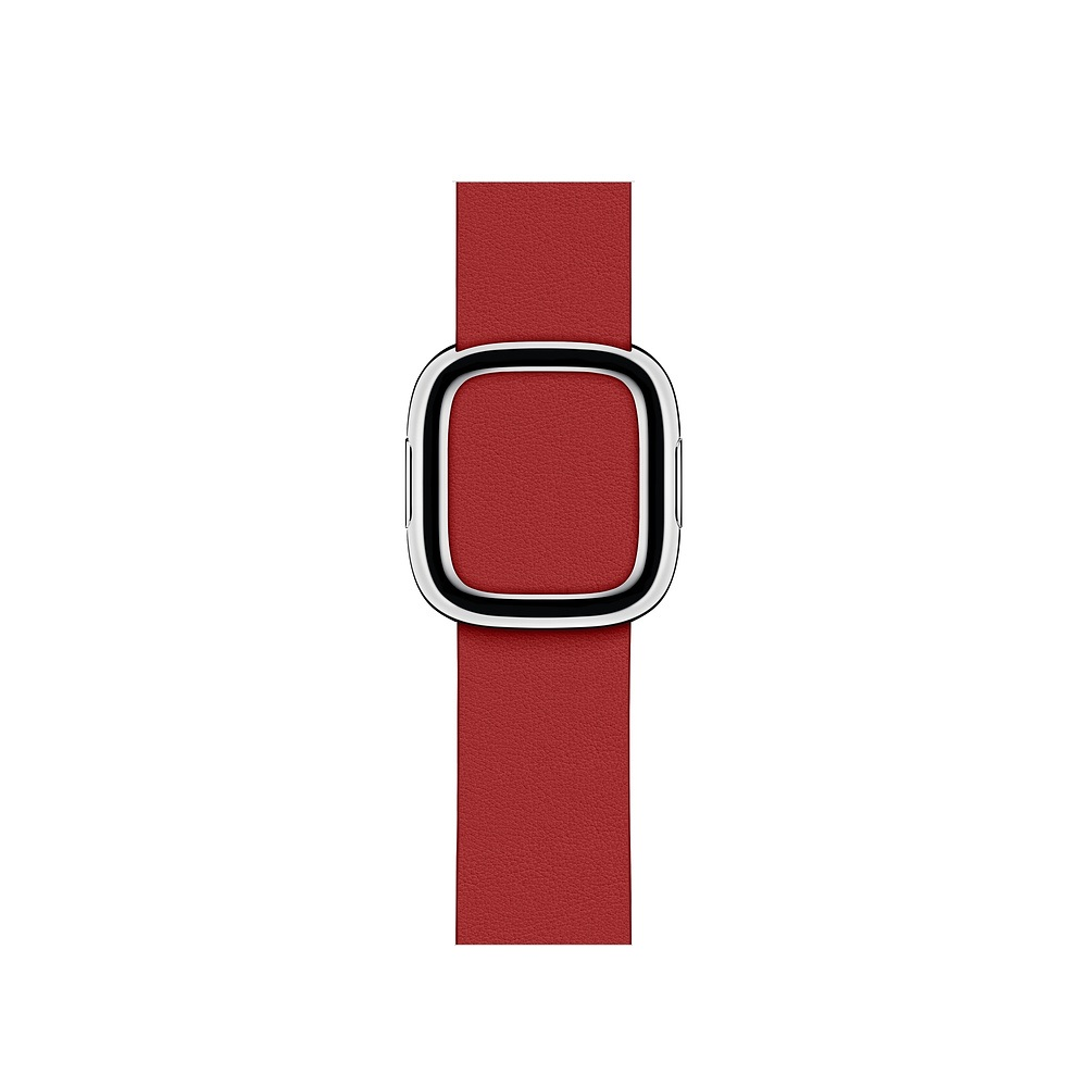 Curea Smartwatch Apple pentru Apple Watch Series 4 40mm Red Modern Buckle Band - Medium