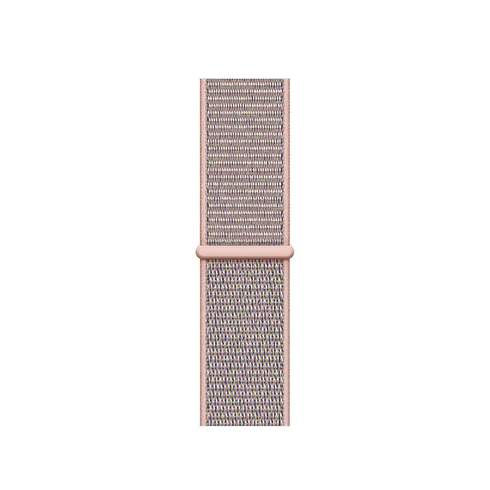Curea Smartwatch Apple pentru Apple Watch Series 4 40mm Pink Sand Sport Loop