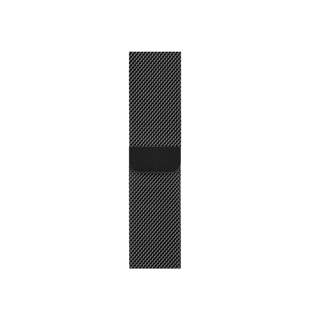 Curea Smartwatch Apple pentru Apple Watch Series 4 40mm Space Black Milanese Loop