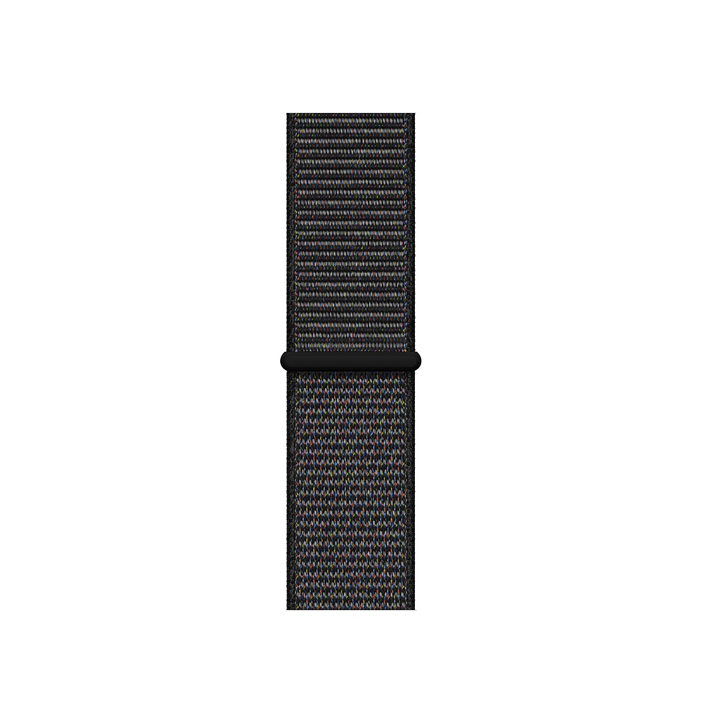 Curea Smartwatch Apple pentru Apple Watch Series 4 40mm Black Sport Loop