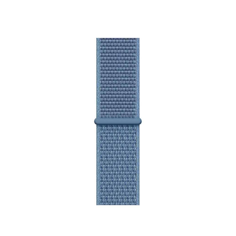 Curea Smartwatch Apple pentru Apple Watch Series 4 40mm Cape Cod Blue Sport Loop