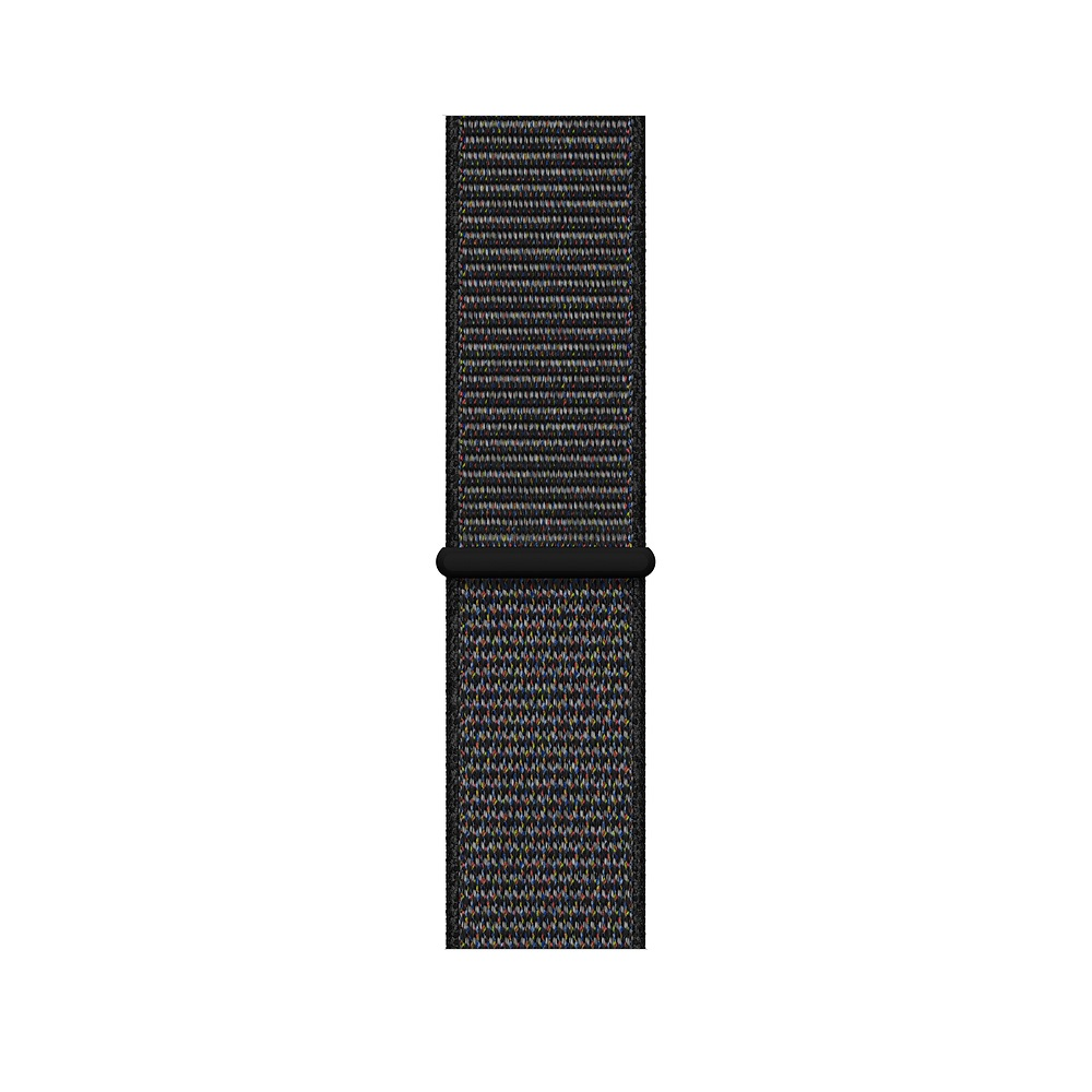 Curea Smartwatch Apple pentru Apple Watch Series 4 44mm Black Sport Loop - Regular