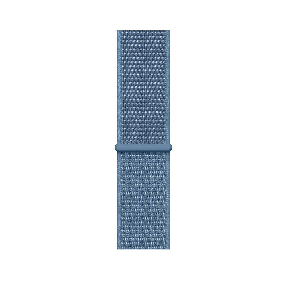Curea Smartwatch Apple pentru Apple Watch Series 4 44mm Cape Cod Blue Sport Loop