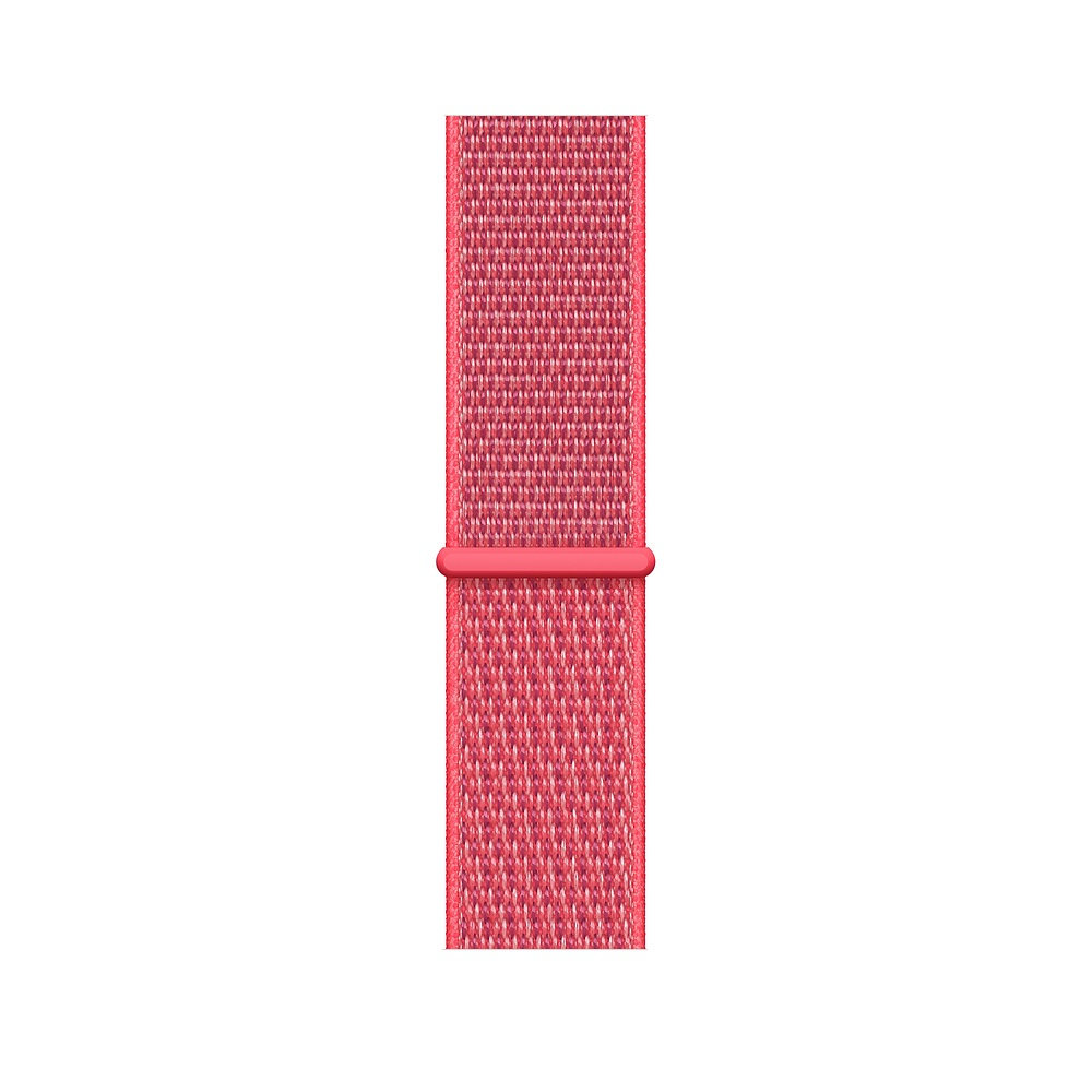 Curea Smartwatch Apple pentru Apple Watch Series 4 44mm Hibiscus Sport Loop