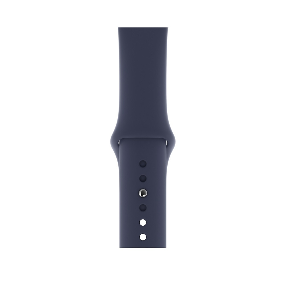 Curea Smartwatch Apple pentru Apple Watch Series 4 44mm Midnight Blue Sport Band - S/M & M/L