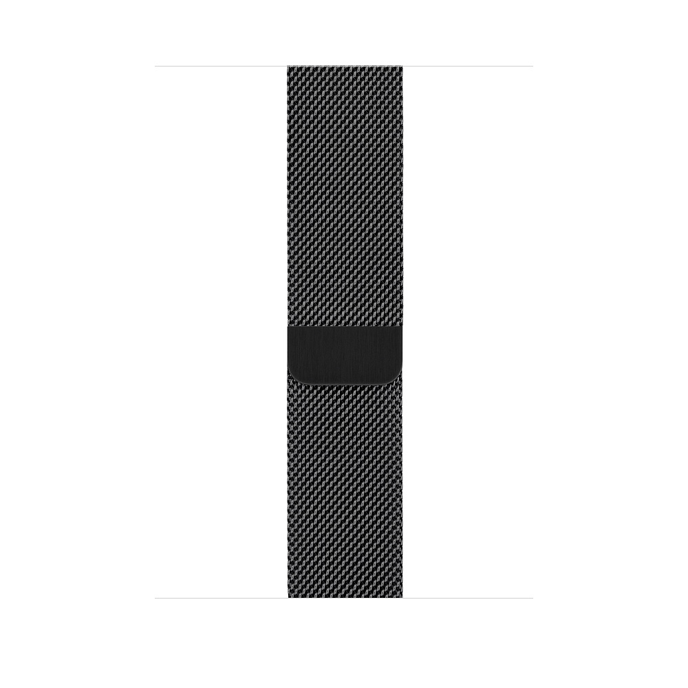 Curea Smartwatch Apple pentru Apple Watch Series 4 44mm Space Black Milanese Loop