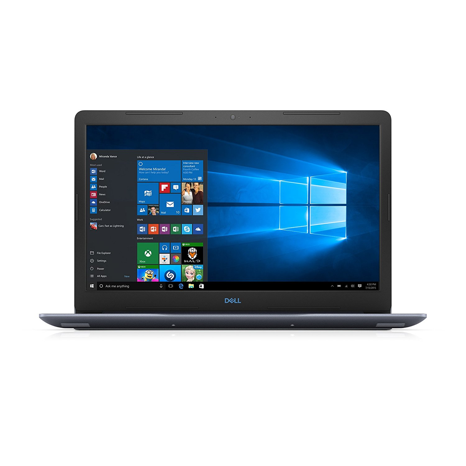 Notebook Dell G3 3779 17.3 Full HD Intel Core i5-8300H GTX 1050 Ti-4GB RAM 8GB HDD 1TB + SSD 128GB Linux