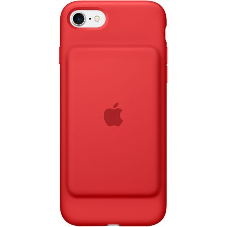 Husa cu acumulator extern Apple Smart Battery Case pentru iPhone 7 Red