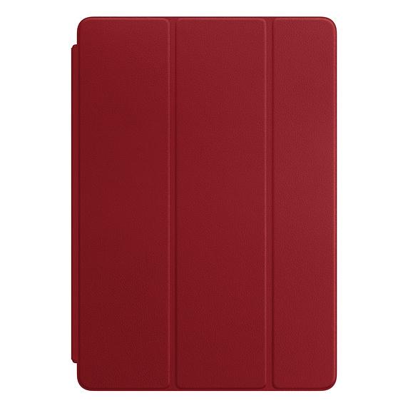 Husa Apple Leather Smart Cover pentru iPad Pro 10.5 Red