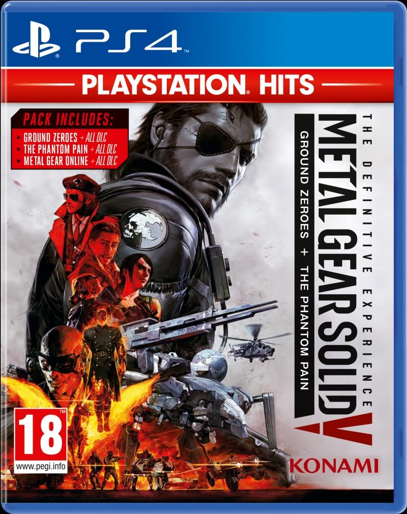 Metal Gear Solid 5 The Phantom Pain PlayStation Hits - PS4