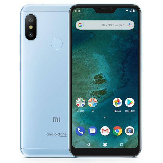 Telefon Mobil Xiaomi Mi A2 Lite 32GB Flash 3GB RAM Dual SIM 4G Blue