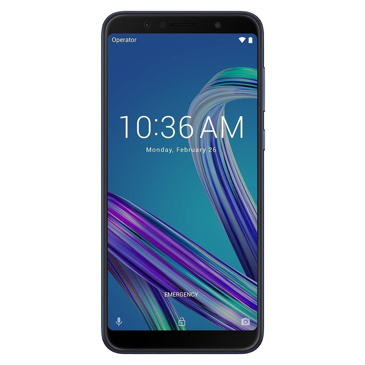 Telefon Mobil Asus ZenFone Max Pro ZB602KL 64GB Flash 4GB RAM Dual SIM 4G Black