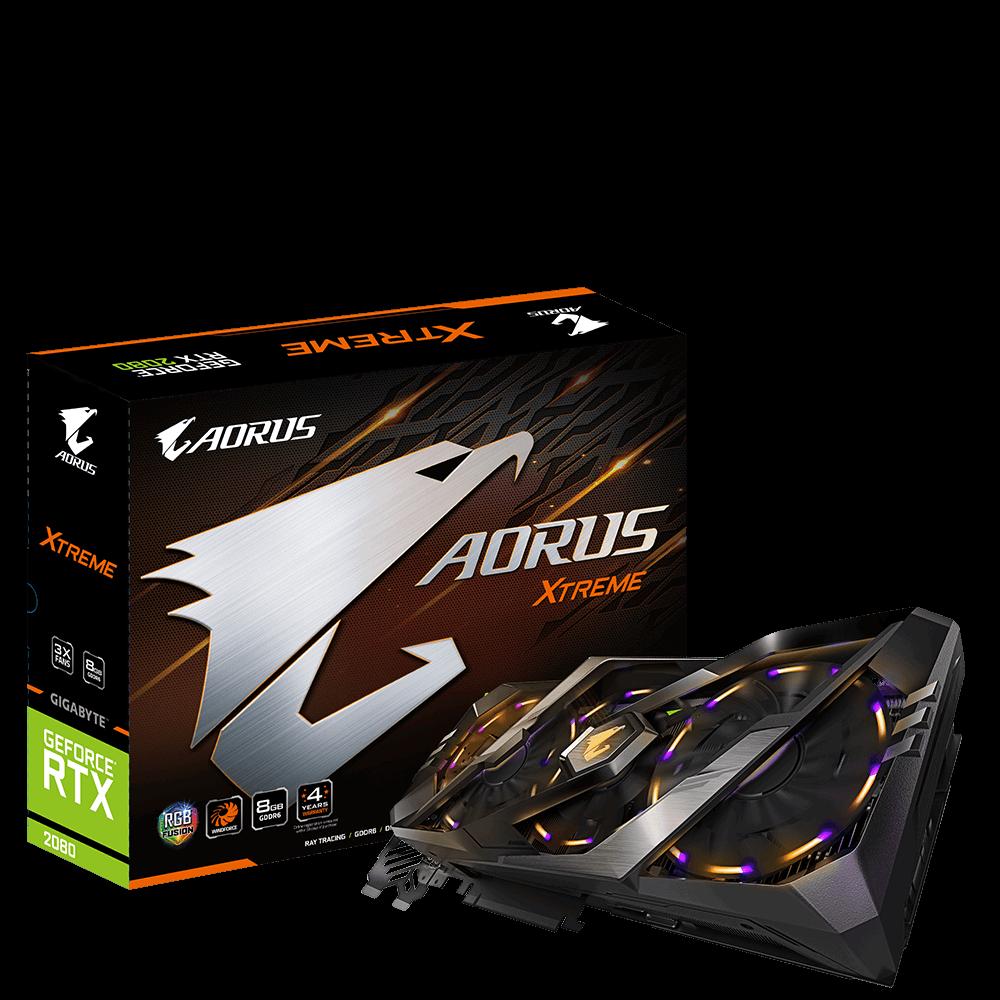 Placa Video Gigabyte AORUS GeForce RTX 2080 XTREME 8GB GDDR6 256 biti