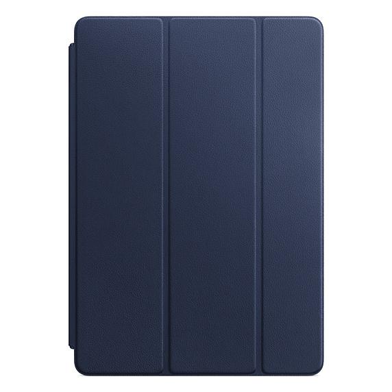 Husa Apple Leather Smart Cover Pentru Ipad Pro 10.5'' Midnight Blue