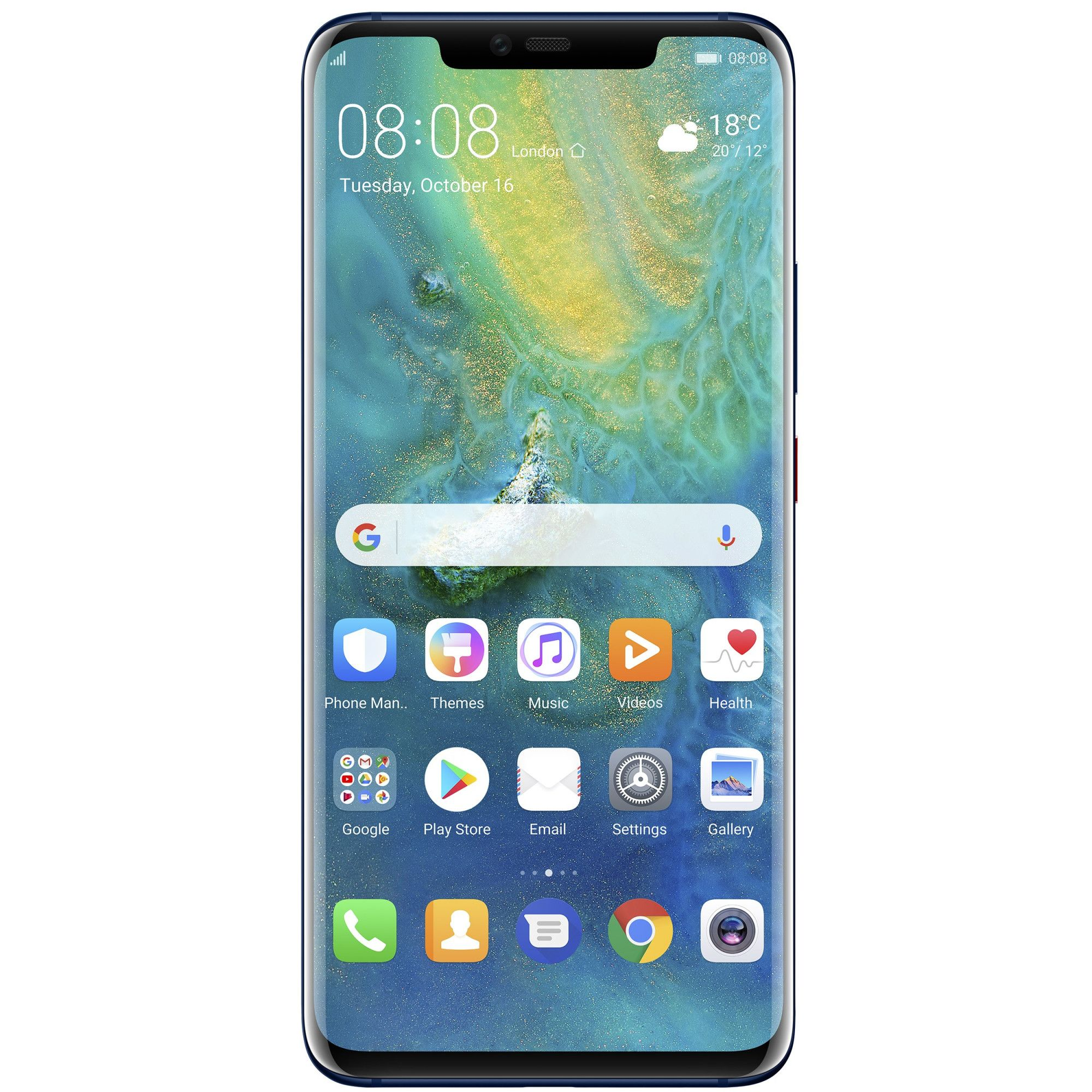 Telefon Mobil Huawei Mate 20 Pro 128GB Flash 6GB RAM Dual SIM 4G Midnight Blue
