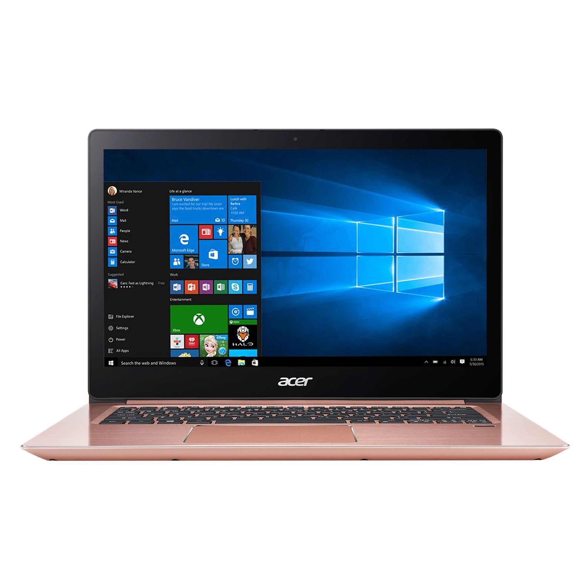 Ultrabook Acer Swift SF314-52 14 Full HD Intel Core i5-7200U RAM 8GB SSD 512GB Linux Roz