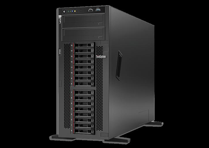 Server Lenovo ThinkSystem ST550 Intel Xeon Silver 4110 16GB RAM No HDD 8xSFF 750W
