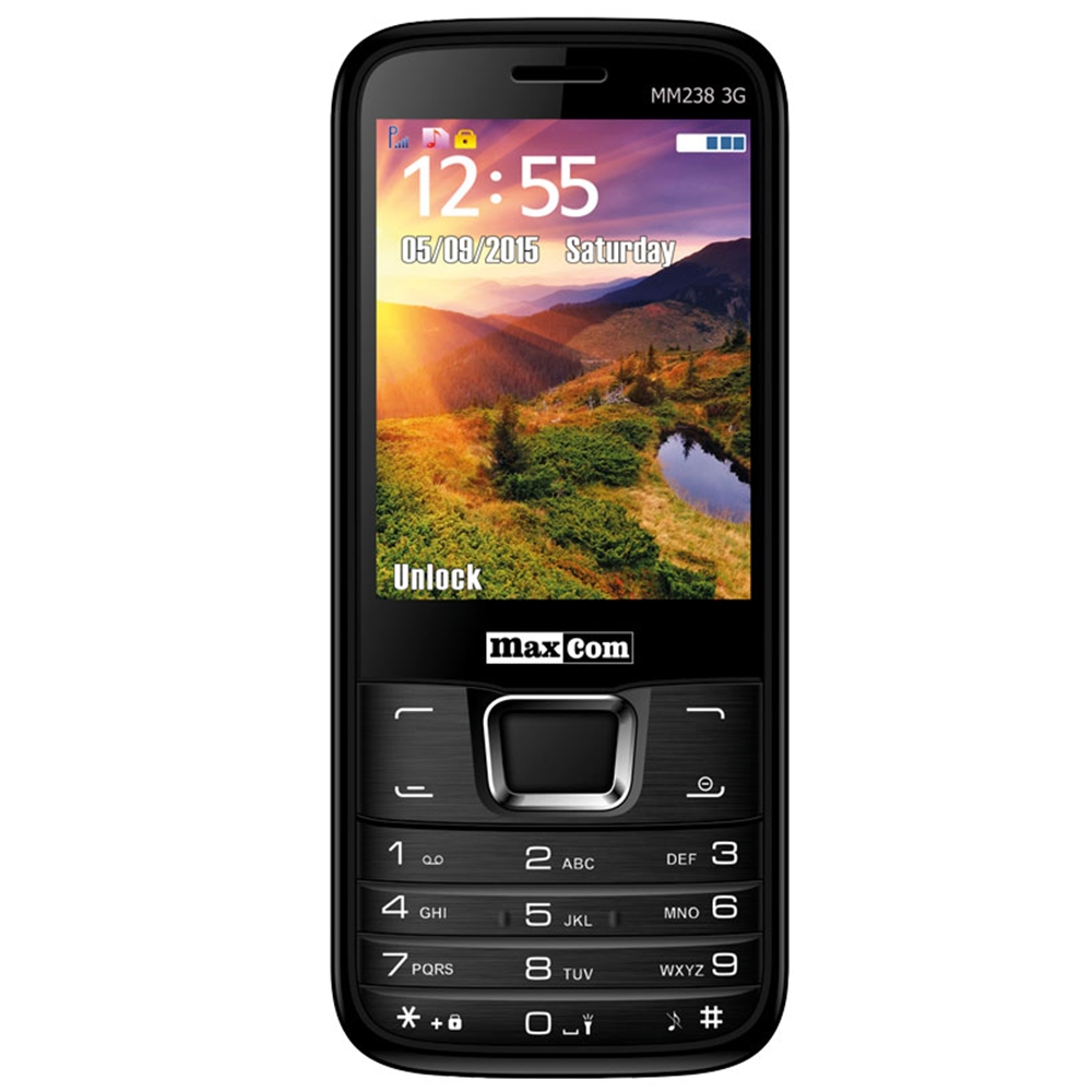 Telefon Mobil Maxcom MM238 Single SIM 3G Black