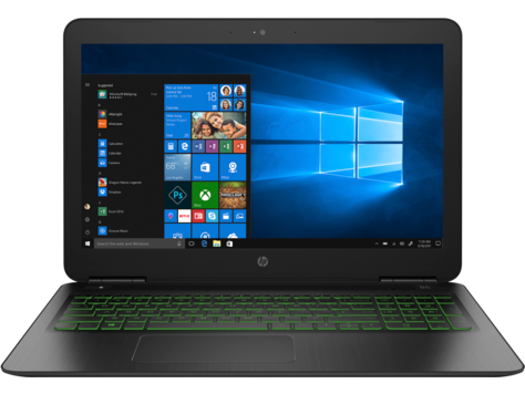 Notebook HP Pavilion 15.6 Full HD Intel Core i7-8550U GTX 1050-4GB RAM 8GB HDD 1TB + SSD 128GB FreeDOS Negru