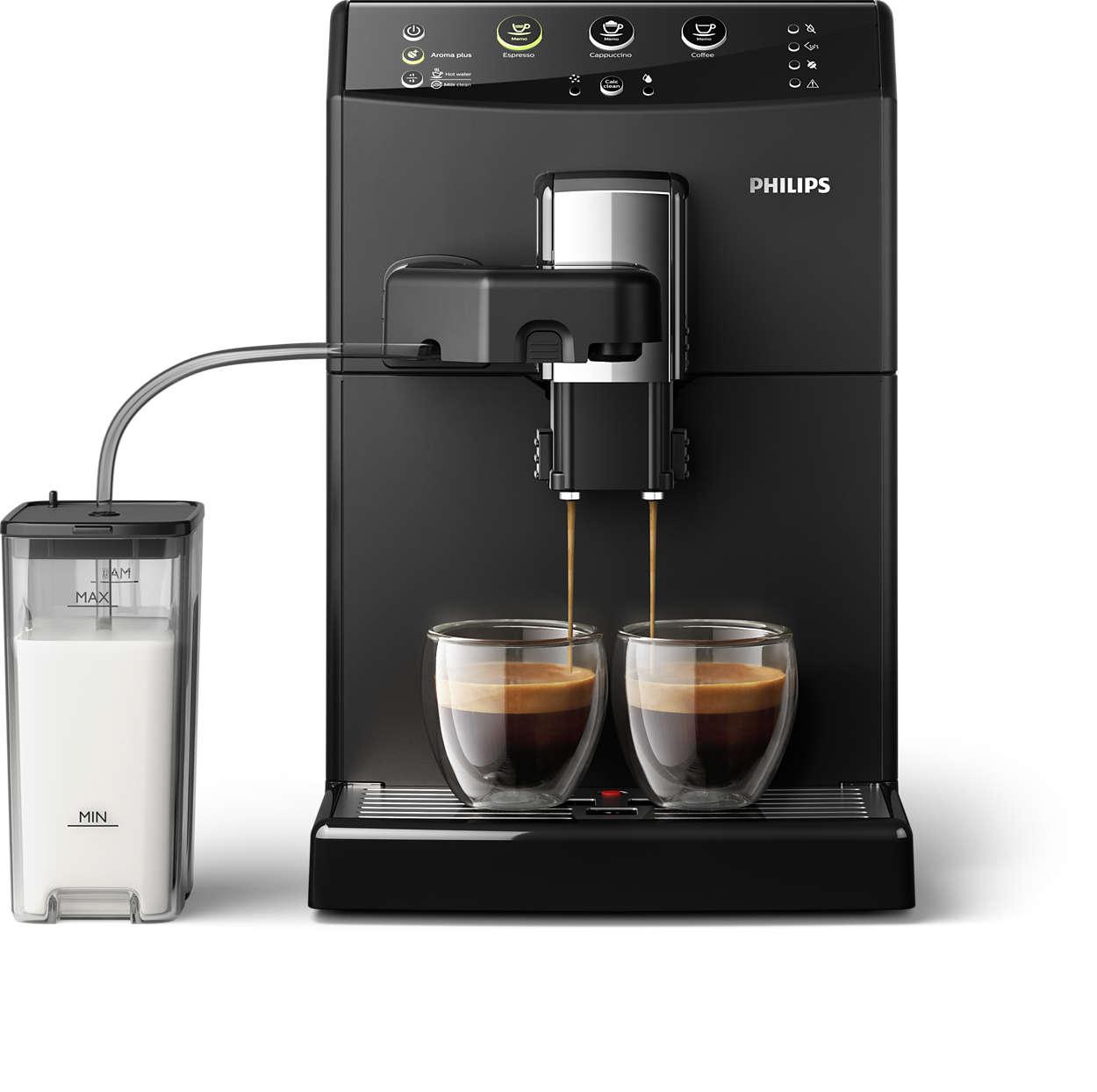 Espressor automat Philips HD8829/09 1850W 1.8L Sistem Easy Cappuccino Negru
