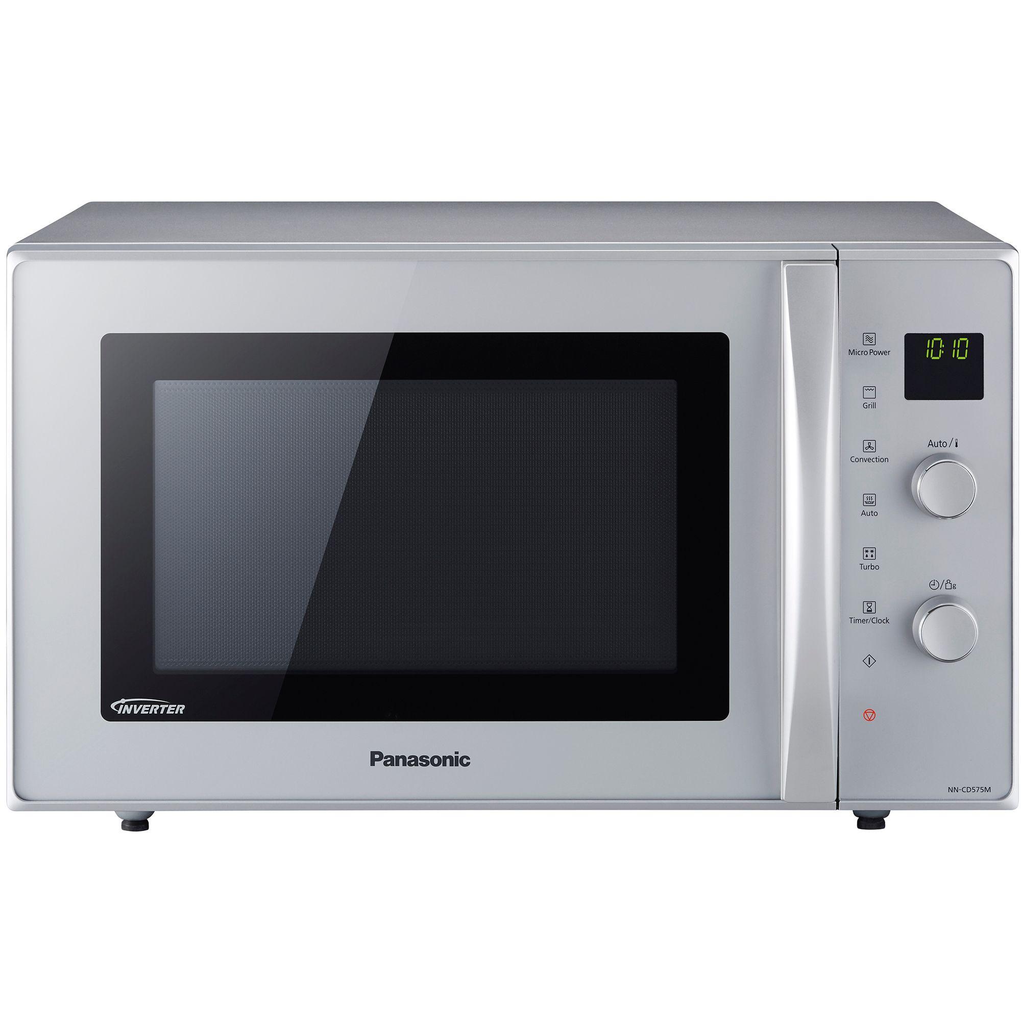 Cuptor cu microunde Panasonic NN-CD575MEPG 1000W Digital Grill Argintiu