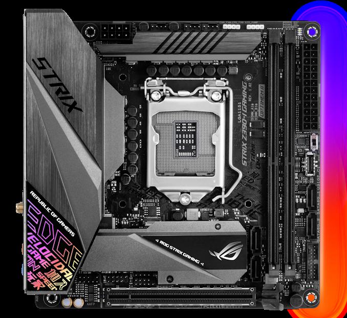 Placa de baza ASUS ROG STRIX Z390-I GAMING Socket 1151 v2