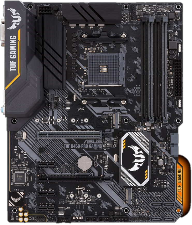 Placa de baza ASUS TUF B450-PRO GAMING Socket AM4