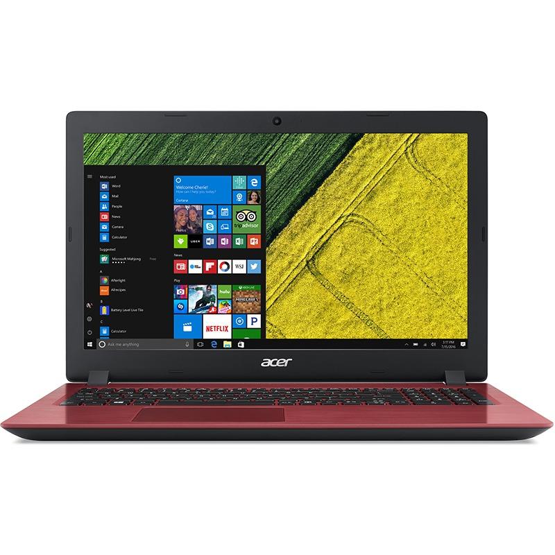 Notebook Acer Aspire A315 15.6 HD Intel Celeron N3060 RAM 4GB HDD 500GB Linux Rosu