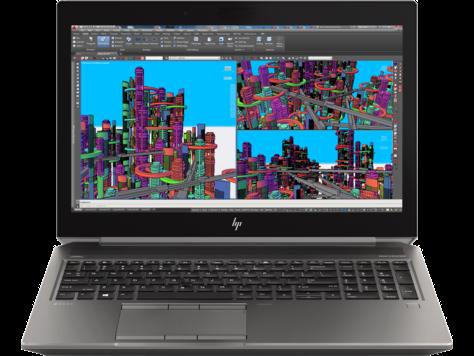 Notebook HP Zbook 15 G5 15.6 Full HD Intel Core i7-8750H P1000-4GB RAM 16GB HDD 1TB + SSD 256GB Windows 10 Pro Negru