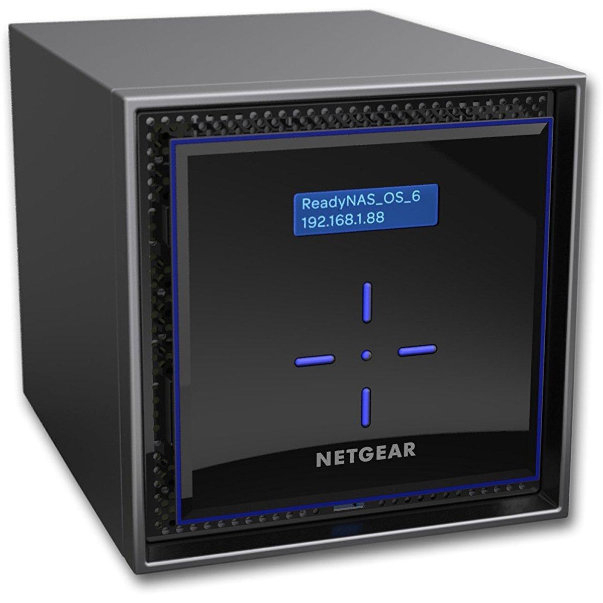 Nas Netgear ReadyNAS RN424 Gigabit 4-bay fara HDD-uri