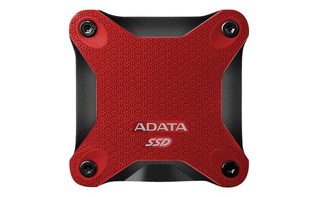 Hard Disk SSD A-Data SD600 256GB USB 3.1 Rosu